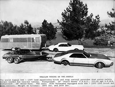 Toronado Towing With Weight Distribution