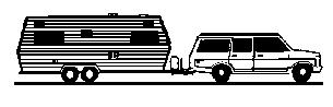 SUV Towing Trailer