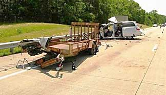 Trailer Accident